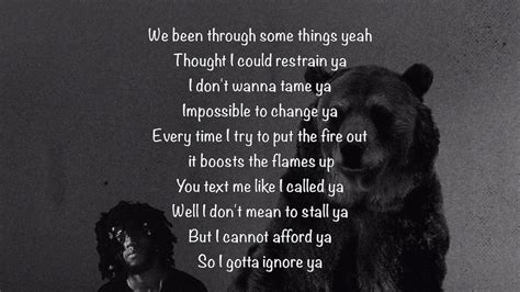 6lack ex calling video 6lack ex calling lyrics youtube
