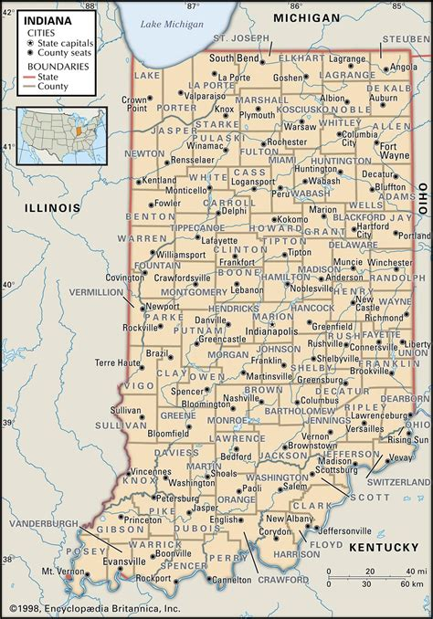 map of indiana cities and towns image gallery indiana cities and towns