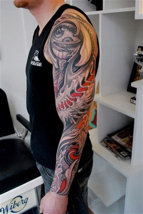 odd tattoo designs eye smile sleeve best ideas gallery