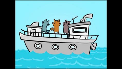 on a boat clean i m on a boat clean animation parody youtube