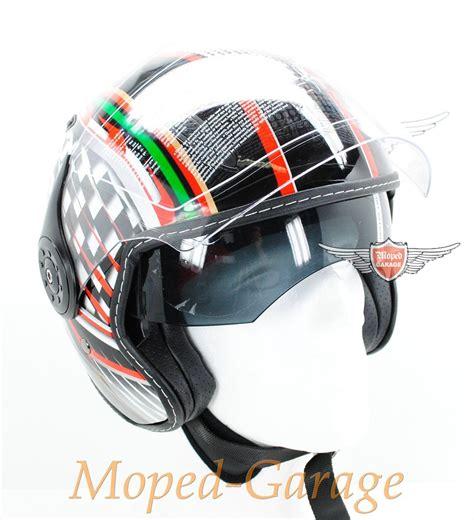 Jet Helm Aufkleber by Moped Garage Net Mofa Moped Chopper Motorrad Jet Helm