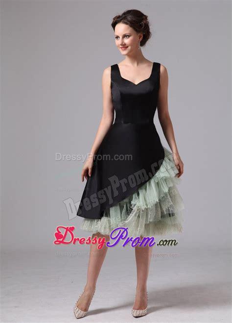 green cocktail black black knee length prom dress www pixshark com images
