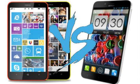 Nokia Lumia Octacore nokia lumia 1320 vs intex aqua octa is it time for a