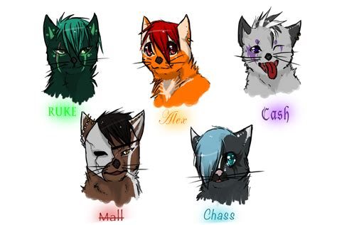 cat characters cat character line by skerppla on deviantart