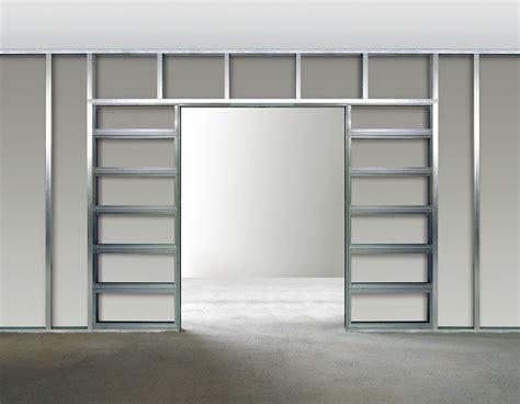 Installer Une Porte Coulissante 4358 by Installer Porte Coulissante Dans Cloison Maison Design