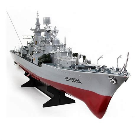 rc military boats ht 2879a rc guided missile destroyer model electric rc