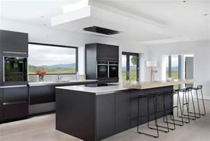 Black Kitchen Decorating Ideas by 31 Black Kitchen Ideas For The Bold Modern Home