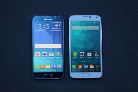 samung galaxy s6 a confronto con galaxy s5 wired