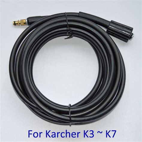 Karcher High Pressure Hose 6meter 120bar For K1 K2 Series 6m 10 meters high pressure washer car washer water cleanig hose for karcher k2 new k3 k4