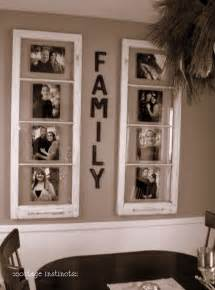 diy home decor use old windows as new photo frames