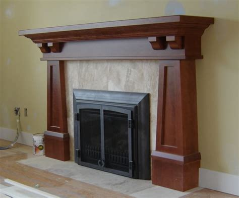17 best ideas about craftsman fireplace on