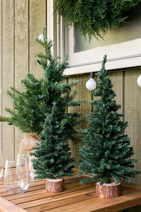 porch christmas trees 20 festive front porch decorating ideas for the holidays