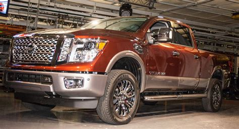 nissan in canton ms titan xd production underway in canton mississippi