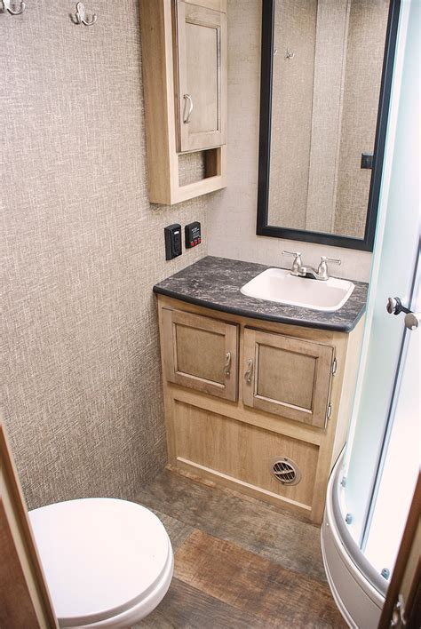travel trailer with large bathroom spree s261rkc luxury lightweight travel trailer k z rv