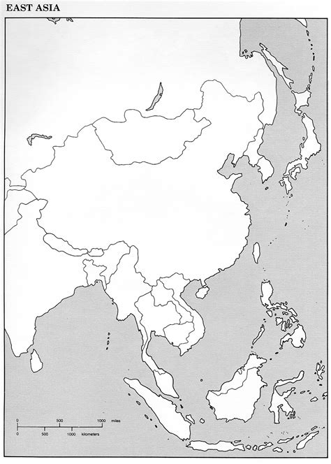 blank map of southern asia world history i map page