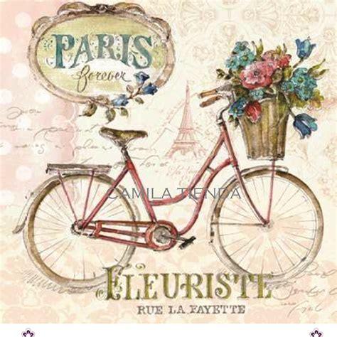 imagenes vintage bicicletas bici fleuriste 1 a4 cod s167 bicicleta