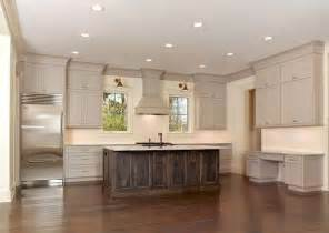 crown molding for kitchen cabinet tops amazing kitchen featuring taupe kitchen cabinets with