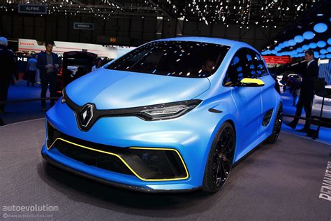renault zoe rs rendering looks more realistic than the e