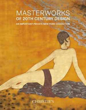 20th century design klotz christies masterworks of 20th century design an important private new york collection sale 3903