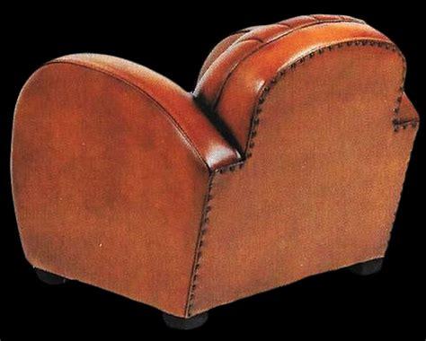 fauteuil club dallas en cuir de basane pleine fleur vue de