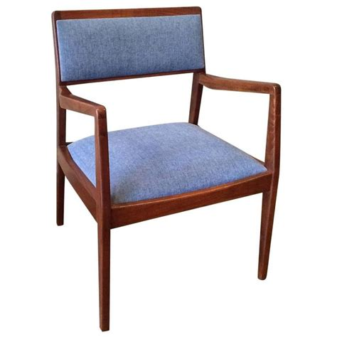 jens risom armchair jens risom walnut upholstered quot playboy quot armchair for sale