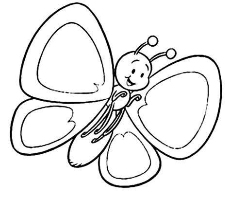 coloring pages of small butterflies so sweet little butterfly coloring page for kids wallpaper