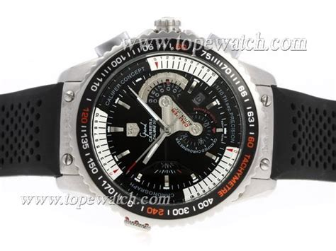 Tag Heur Grand Carera Calibre 36 Rubber With Date Mesin Transparant tag heuer grand calibre 36 automatic with black