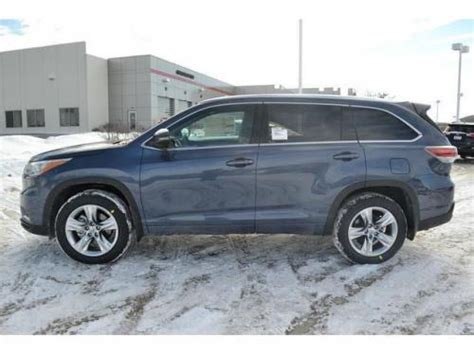 toyota highlander in shoreline blue pearl 8v5 from 2014 2015 9