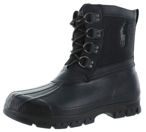 boots for mens waterproof polo ralph crestwick s snow duck boots waterproof