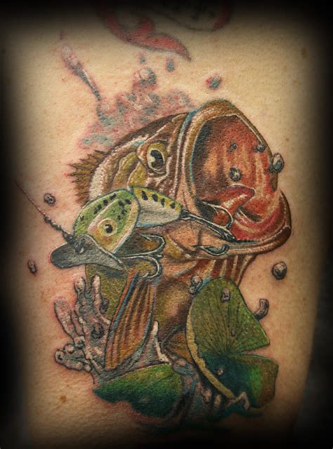 bass fish tattoo fashion and bass