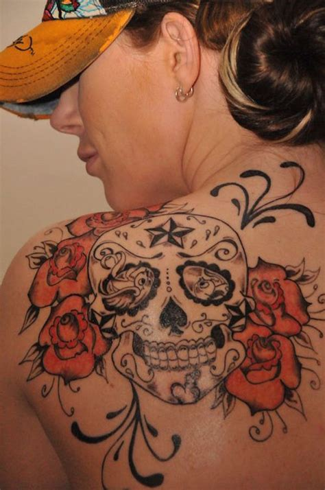 cool skull tattoos 138 cool sugar skull tattoos