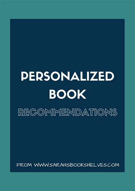 personalized bookshelves coming soon personalized book recommendations s