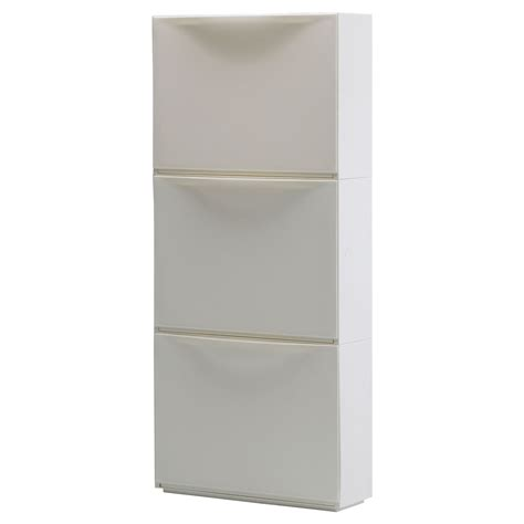 shoe storage ikea ikea trones shoe storage cabinet 3 pack white new ebay