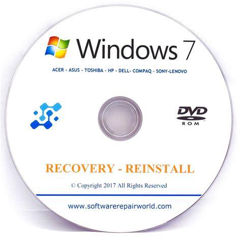toshiba recovery dvd disk  windows   bit pc