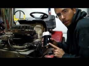 briggs and stratton 2 cylinder starter replacement youtube