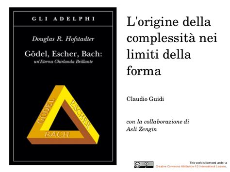 libro gdel escher bach complexity management literacy meeting presentazione di claudio gui