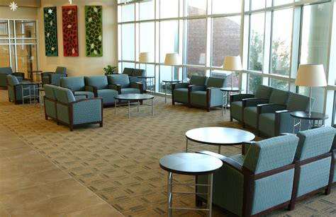 interior office waiting room furniture drainage