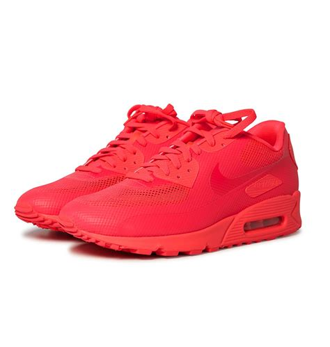 original nike air max  hyperfuse solar red mens red