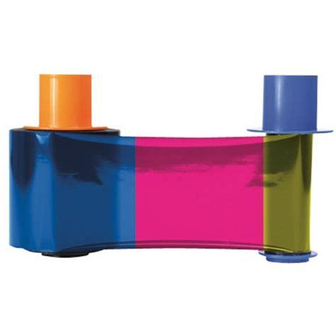 Ribbon Color Dtc4500e fargo 45210 color ribbon 500 prints ymckok easybadges