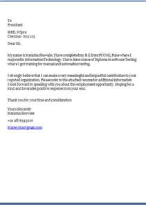 purpose cover letter purpose of a cover letter