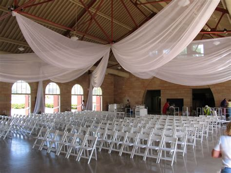How To Drape A Ceiling ways to swag pipe and drape backdrop 12 panel ceiling