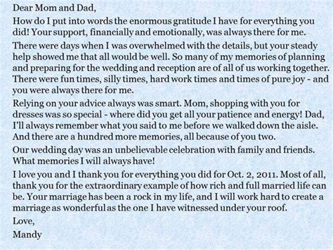 wedding quotes groom and message to their - Wedding Message To Their Parents