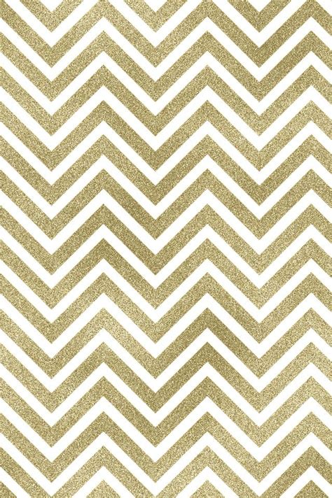 gold heart pattern wallpaper gold white chevron iphone wallpaper background phone lock