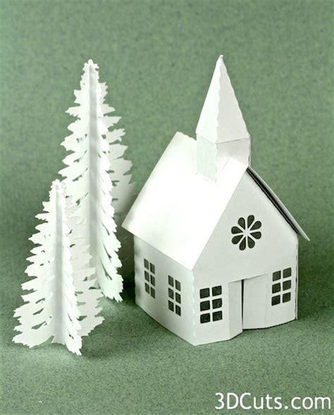 Exceptional Christmas Light Store #6: Tea+Light+Village+Church+Tutorial+2