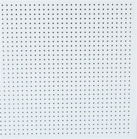 perforated gypsum board false ceiling view perforated