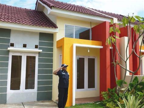 desain depan rumah unik warna cat dinding rumah tak depan minimalis desain