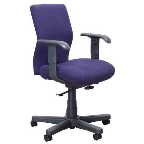 Knoll Bulldog Chair by Knoll Bulldog Operational Used Task Chair Purple