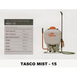 Harga Semprotan Gendong harga tasco b 425 sprayer semprotan