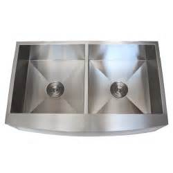 Stainless Steel Farmhouse Kitchen Sink 36 Inch Stainless Steel Curved Front Farmhouse Apron