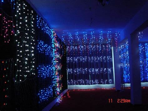 china led waterfall light china decorative light